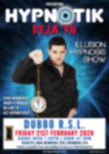 Hypnotik Illusion Hypnosis Show | Dubbo RSL