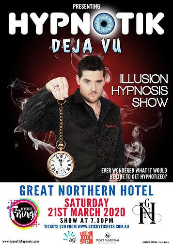 Hypnotik Newcastle Fringe Festival