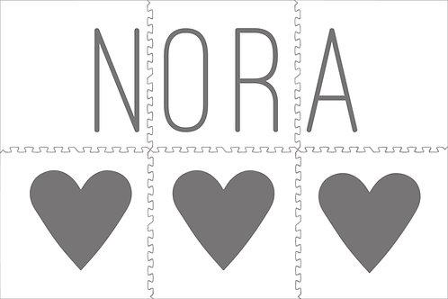 3 Grey Hearts