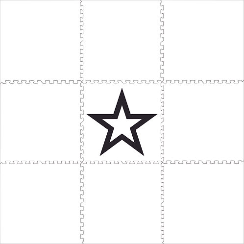 Black & White Star