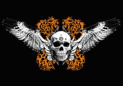 Wiinged Death Skull