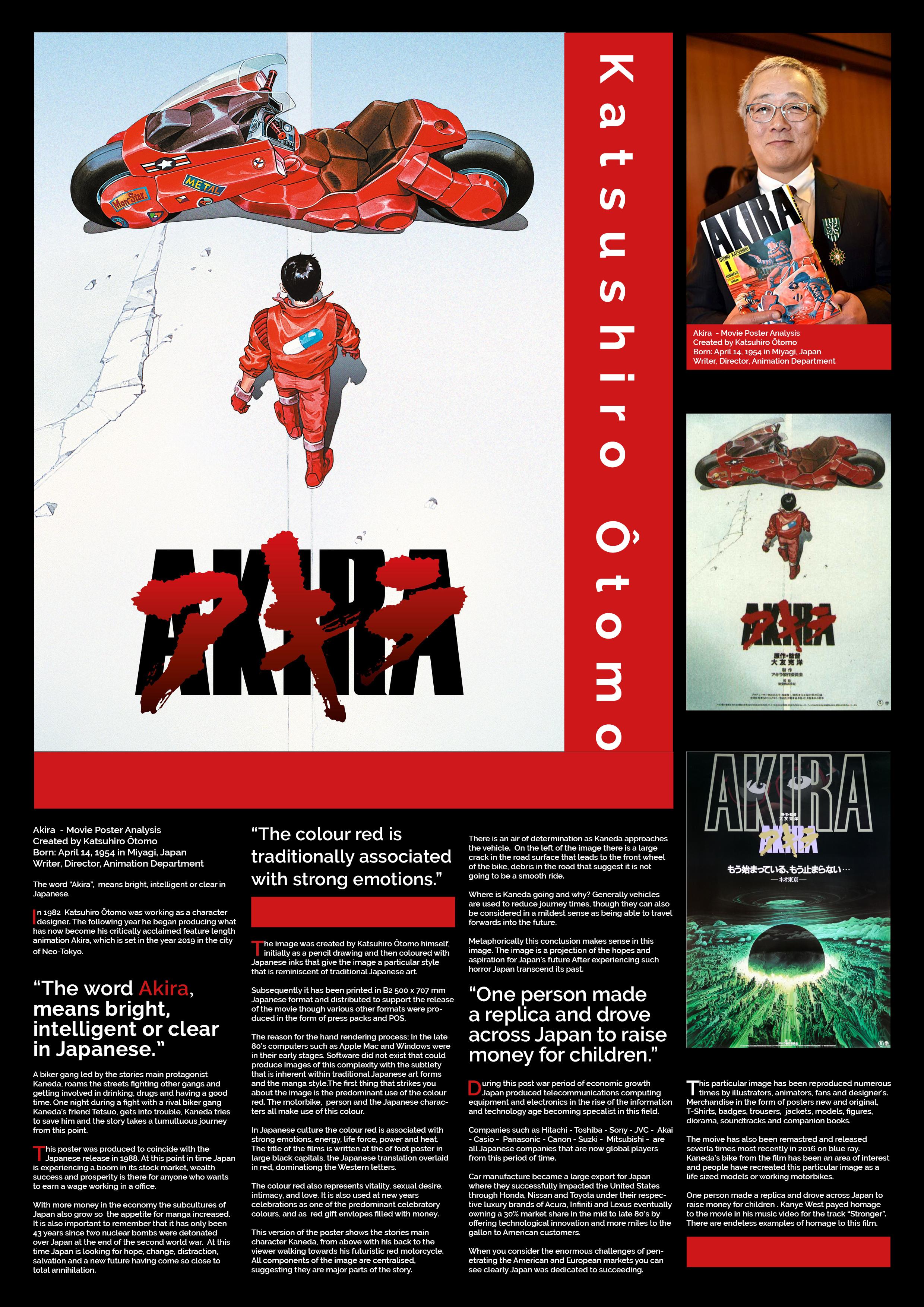 Akira EditorialPoster