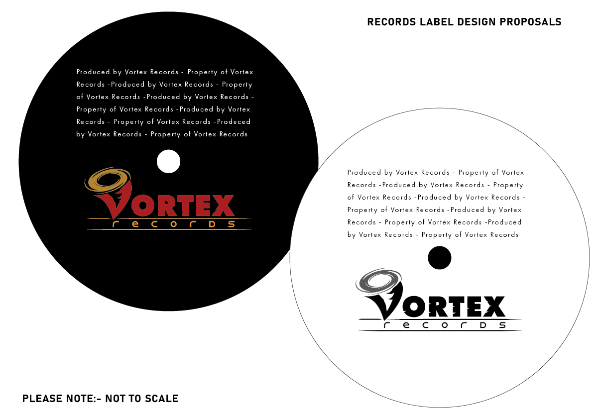 Vortex Records Logo