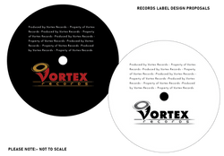 Vortex Records Logo