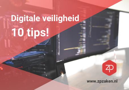 10 tips voor een digitaal veilig bedrijf