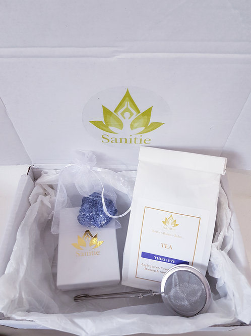 Sanitie Third eye Gift set (with small crystal)