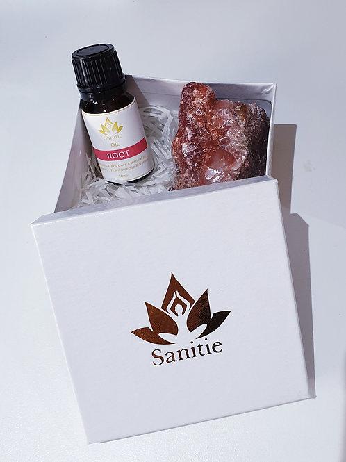 Mini Root Chakra gift set