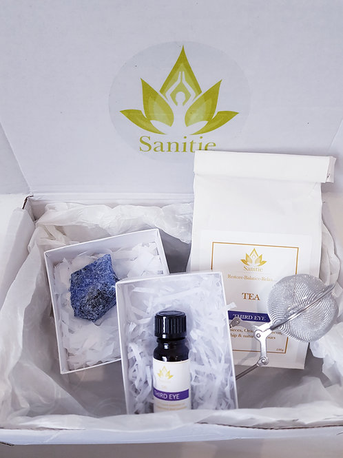 Sanitie Third eye Gift sets (with Large crystal)