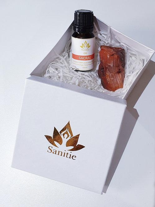 Mini Sacral Chakra gift set