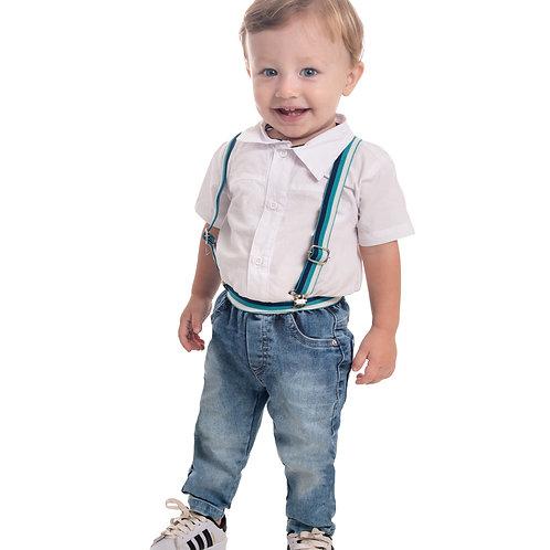 Conjunto Body Tricoline MRX Jeans
