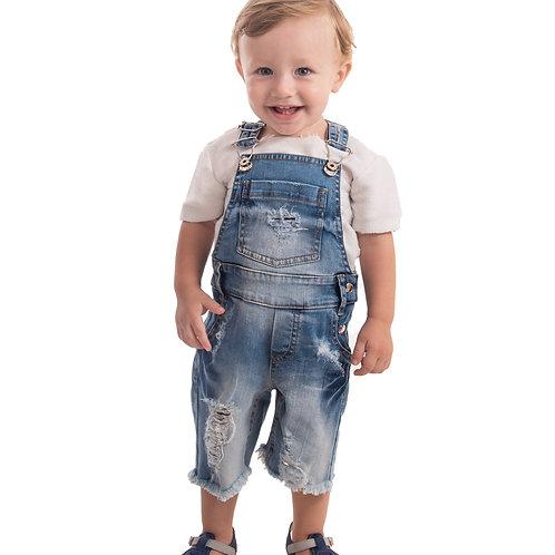 Jardineira MRX Jeans