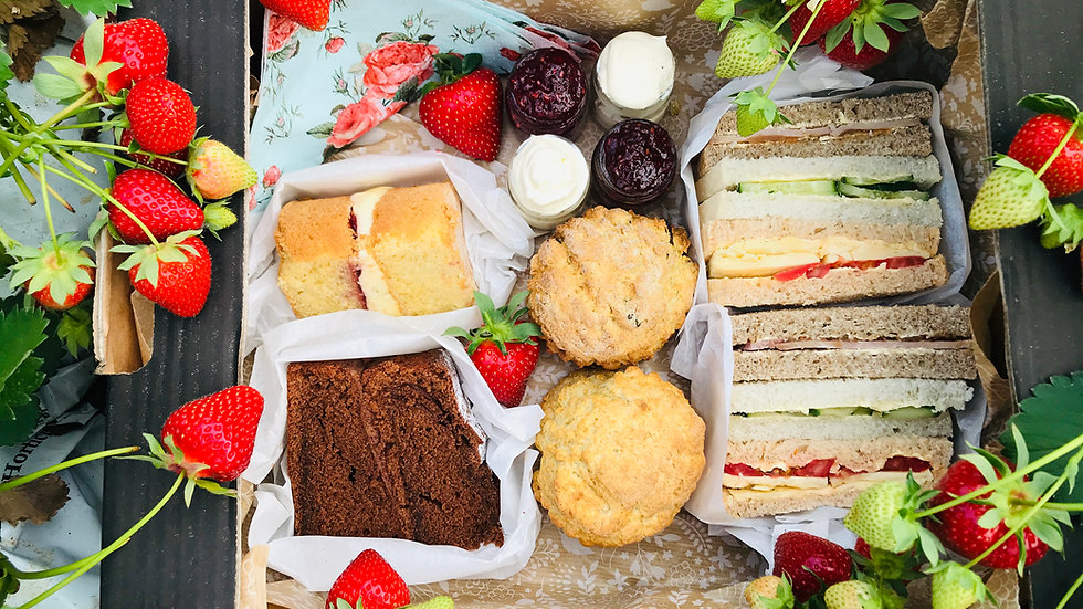 Afternoon tea for collection