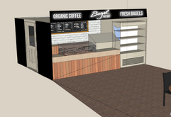 Bagel Factory store rebrand Hays Galleria