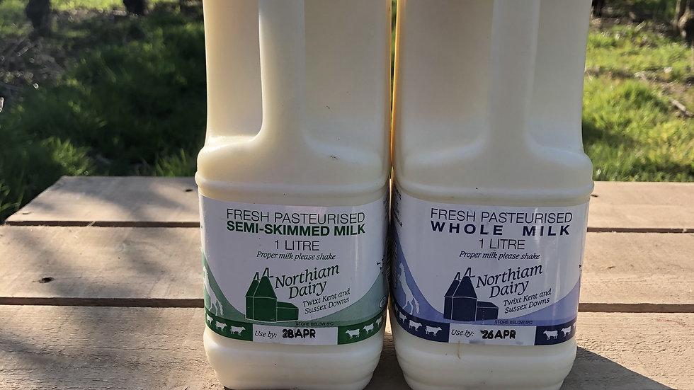 1L (2 pints) Milk