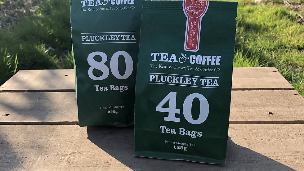 Pluckley tea bags