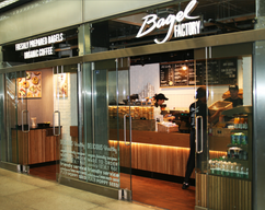 Bagel Factory new store from my designs
