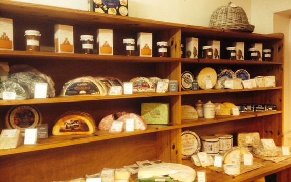 Our cheese room at the farm shop