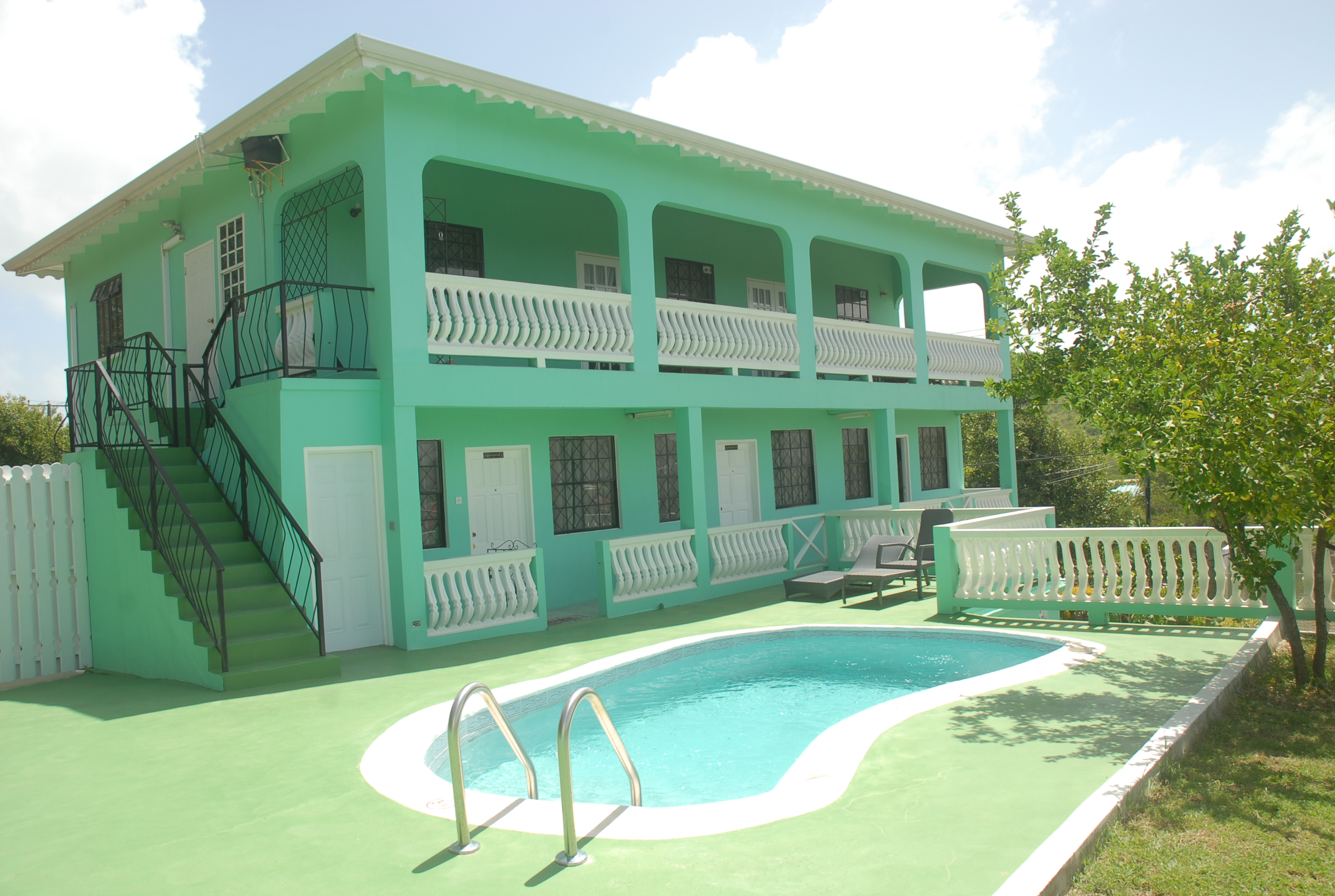 Belle Kaye Lodging in St. Lucia