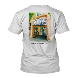 1785 Watercolor Tshirt in White NO BACKG