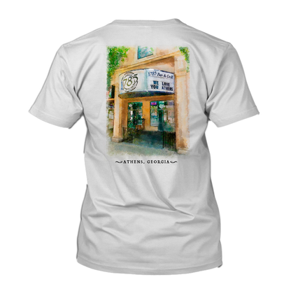 1785 watercolor tshirt in white no backg