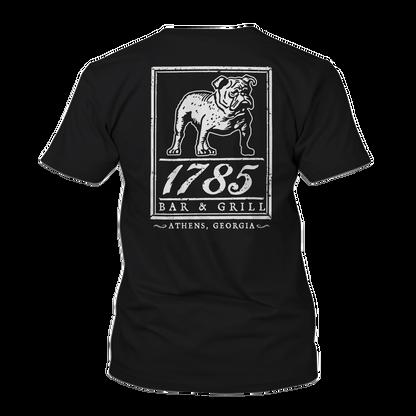 1785 bulldawg tshirt in black no backgro