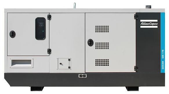 QIS 175 Industrial generators front - Or