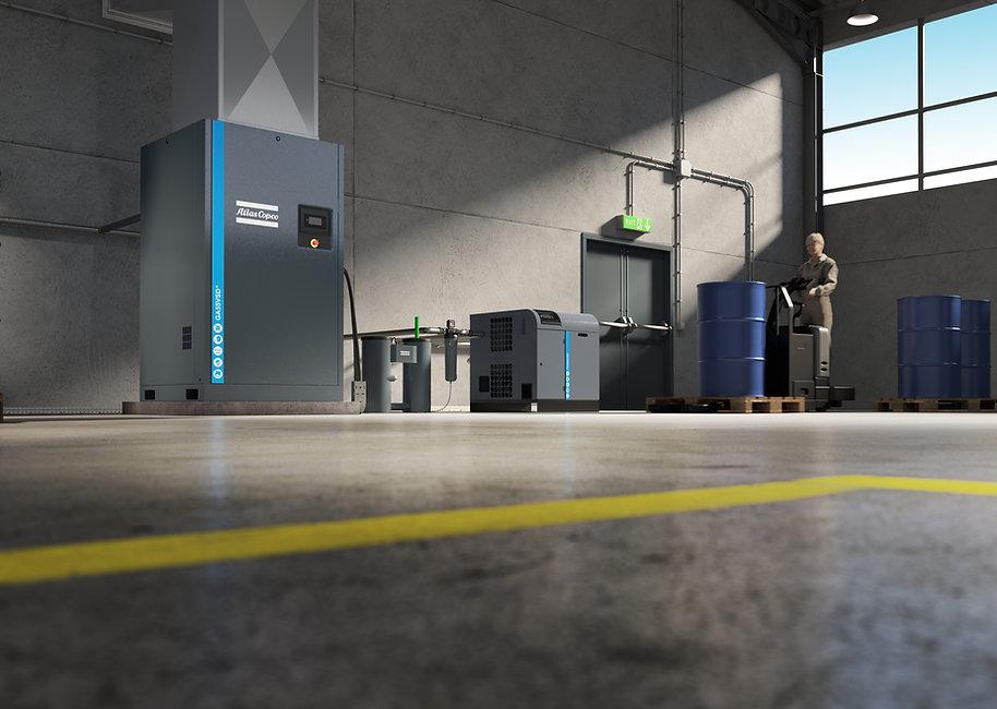 FD 300 VSD Refrigerant Air Dryer - Origi