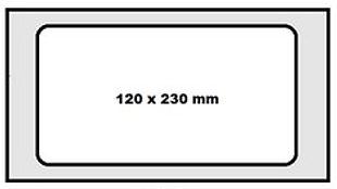 täiskivilõõr 120x230mm