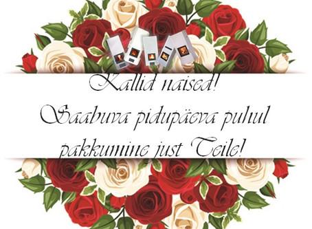 Pidupäeva puhul Eesti naistele moodulahju paigaldus TASUTA