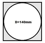 dm 140mm