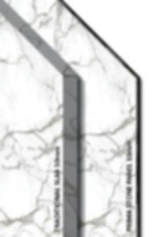 Natural slab versus Prima Stone
