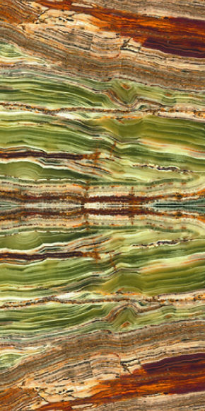 TRANSLUCENT BAMBOO GREEN ONYX