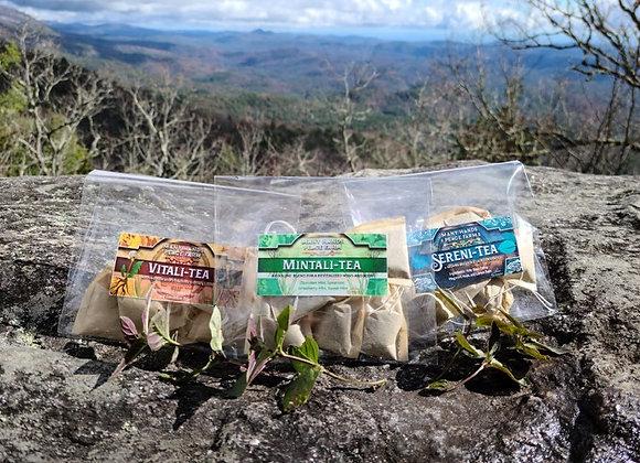 Hand-Stuffed Herbal Teas