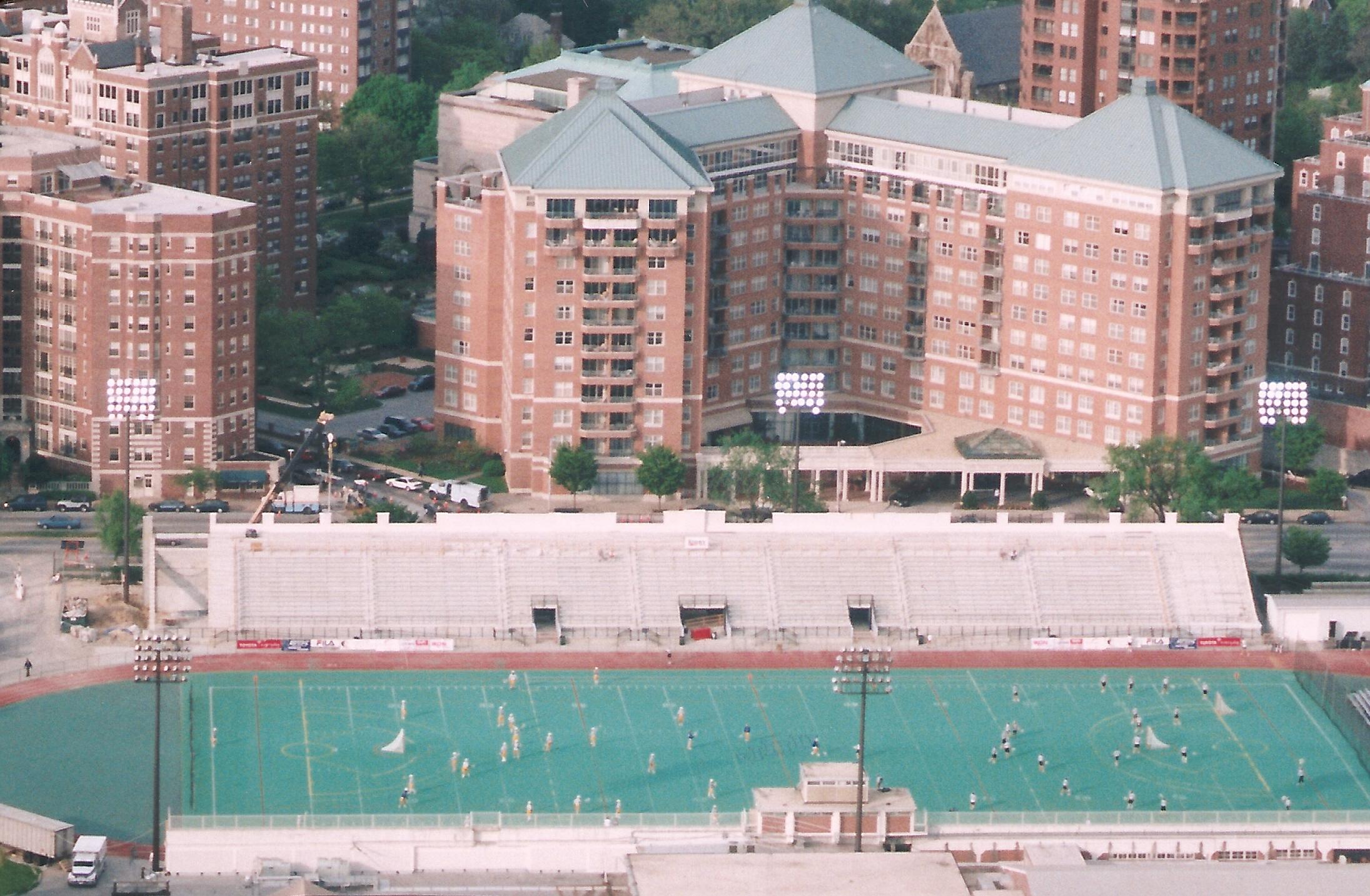 Johns Hopkins University Grandstand