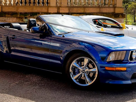 Ford Mustang GT/California Special Tex