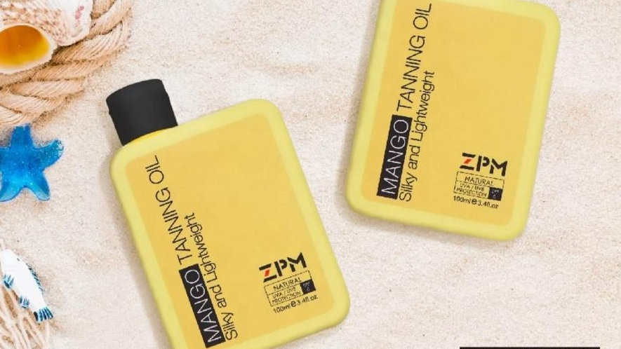 שמן שיזוף מנגו | ZPM Tanning Oil Mango