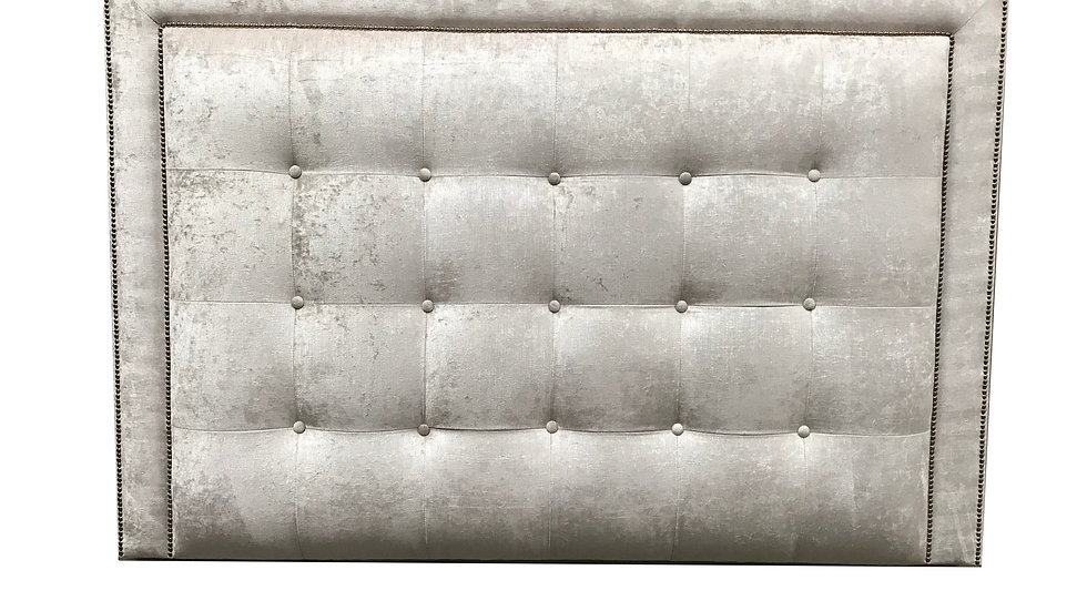 Square Panelled Headboard with border