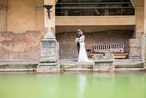 Roman Baths Wedding 3   Gloucestershire wedding photographer   Wheatman Photography