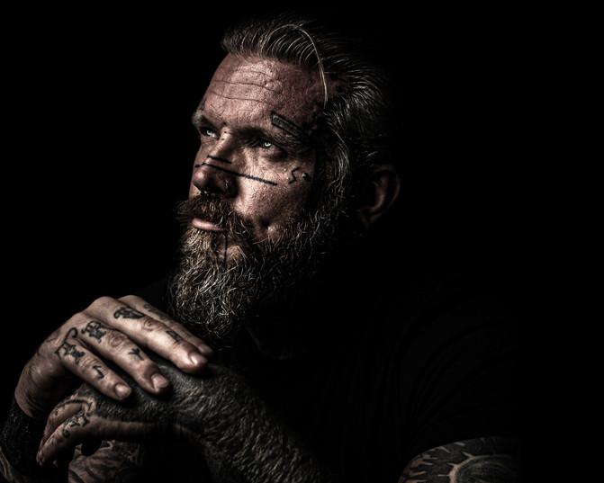 Mark | Low Key | Portrait | Gloucestershire | Photographer | Wheatman Photography