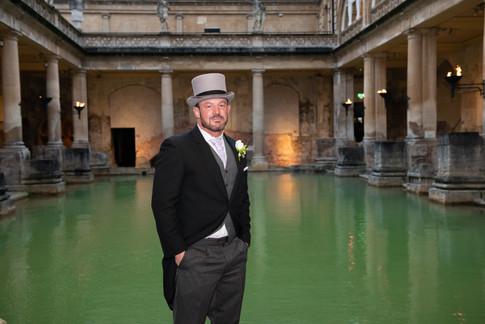 Roman Baths Wedding 1   Gloucestershire wedding photographer   Wheatman Photography