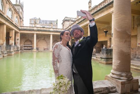 Roman Baths Wedding 4   Gloucestershire wedding photographer   Wheatman Photography