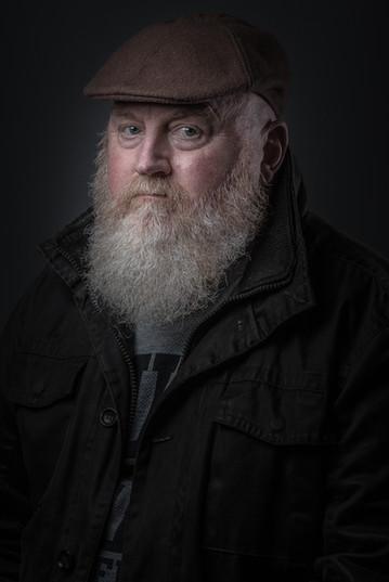 Martin R.I.P | Low Key | Creative Portrait | Gloucestershire Portrait Photography | Portrait Studio