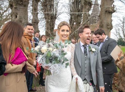 The Wedding of Mr & Mrs Holmden, 15th December 2018 -  The Warren Estates, Maldon, Essex.