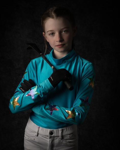 Equestrian | Horse Rider | Portrait | Wheatman Photography