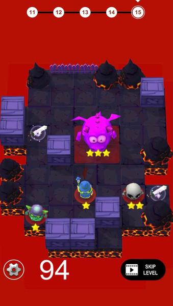 Combat Puzzle - Battle Mage