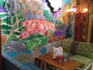 Mural Cantik di Kedai Petogogan