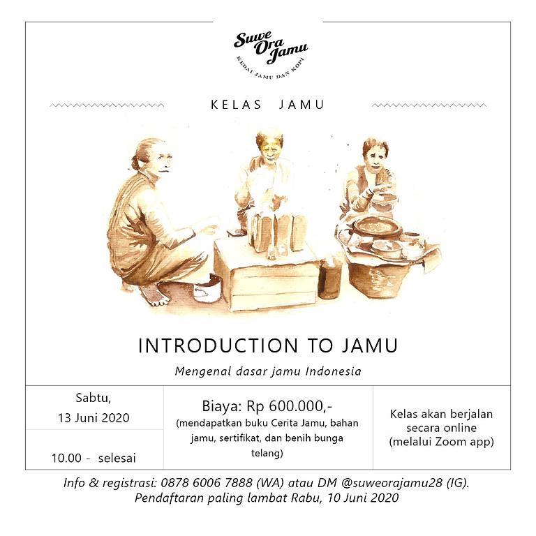 Kelas Jamu: Introduction to Jamu