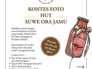 Kontes Foto Instagram Suwe Ora Jamu