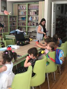 Selimiye Çocuk Kütüphanesi / Sihirli Benekler
