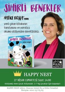 Sihirli Benekler'in Happy Nest Lansmanı